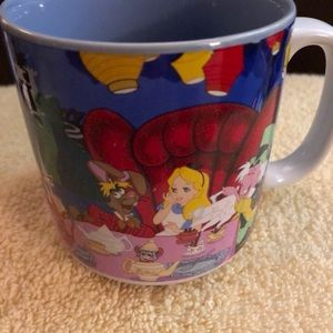 Disney Mad Hatter Queen of Hearts Mug